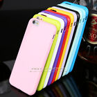 Внешний вид - Candy Glossy Back Silicone TPU Bumper Case Cover for Apple iPhone 5 5S 5C 6 Plus
