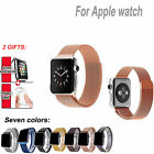 Milanese Magnetic Loop Stainless Steel Watch Band Strap For Apple Watch 38mm42mm