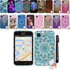 For LG Optimus Dynamic 2 L39C Gel TPU SILICONE Rubber SKIN Soft Case Cover + Pen