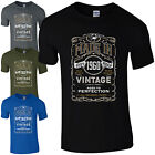 Made in 1960 T-Shirt Born 56th Year Birthday Age Present Vintage Funny Mens Gift