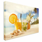Cocktails on the beach Canvas wall Art prints high quality great value