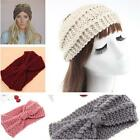 Chic Women Girls Warmer Corn Line Knitting Wool Wide Headband Knit Hair Band LA