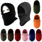 Thermal Balaclava Hood Outdoor Swat Ski Winter Windproof Face Mask Hat 10 Colors