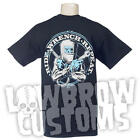 Ride, Wrench, Repeat Chopper T-shirt Harley Triumph XS650 Ironhead HD