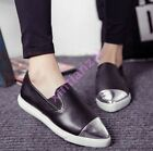 Stylish Womens Flat Metal Pointed Toe Oxfords Pumps Loafers HOT Moccasins Shoes