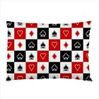 Hot New card poker pillow case cover free shipping
