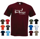 'Probably the Best Beekeeper in the World' Funny BeeKeeping Men's T-shirt
