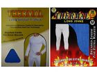 2 Mens THERMAL Long Sleeve T-Shirt Vest & Long Johns WINTER Ski Underwear Set