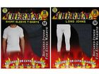 4 Mens THERMAL Short Sleeve T-Shirt Vest & Long Johns WINTER Ski Underwear Set
