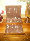 "122 Piecces WM ROGERS LTD Heather   ""Meadowbrook"" Oneida Silver Plate Silverware"