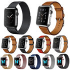 Milanese Magnetic Stainless Watch Band Strap Leather Loop For Apple Watch 2 / 1