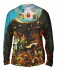 "Yizzam - Bosch - ""Gemaldegalerie der Akademi…""-  New Mens Long Sleeve Shirt 1606"
