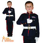 Child Ceremonial Soldier Costume Army Officer Military Book Week Day Fancy Dress