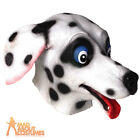 Adult Dalmatian Mask Dog Puppy Novelty Fancy Dress Accessory New