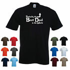 'Probably the Best Dad in the World' Funny Fathers Day Birthday Gift T-shirt