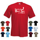 'Probably the Best Son in the World' Funny Birthday Gift Idea T-shirt