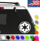 Galactic Empire Decal Sticker BUY 2 GET 1 FREE Choose Size & Color Star Wars $4.75 USD