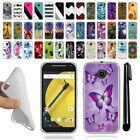 For Motorola Moto E LTE 2nd Gen 2015 TPU SILICONE Protective Case Cover + Pen
