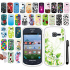 For Samsung Galaxy Discover S730G Centura S738C NEW TPU SILICONE Case Cover +Pen