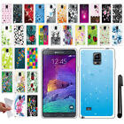 For Samsung Galaxy Note 4 N910 NEW TPU SILICONE Rubber Soft Case Cover + Pen