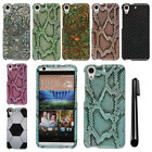 For HTC Desire 626 626S PATTERN HARD Protector Case Phone Cover + Pen