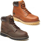 MENS DICKIES WELTON NON-SAFETY LEATHER LACE UP BOOTS ANKLE HIKING SHOES WORK SZ