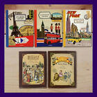 7321 Sticky Note Book - New york, London, Paris, Alice, Dorothy