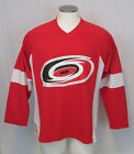 Authentic NHL Hockey League Official Carolina Hurricanes Jersey Shirt Thermal