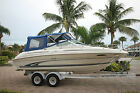 NO RESERVE**SEA RAY 215 EXPRESS CRUISER**5.7 MERCRUISER**EXTRA CLEAN**WE SHIP