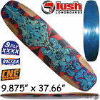 "LUSH Steezestoker Skateboard Deck Longboard Freeride Slide Symetrical 37.7"" SALE"
