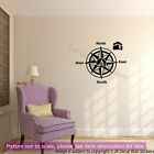 Qibla Direction Compass Islamic Wall Art Stickers Vinyl Decal Prayer Room Decor