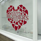 Happy Mothers Day Wall & Window Stickers Mother Decals Shop Window Display A338
