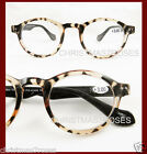 Vintage style men women Round Design Reading glasses 1 1.5 2 2.5 3 black+leopard