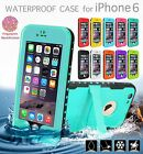 NEWEST WATERPROOF DIRTPROOF SHOCKPROOF DEFENDER CASE FOR APPLE IPHONE 6 & 6 Plus