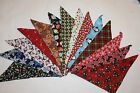 50 U Pick HOLIDAY Dog Bandanas, OVER THE COLLAR,clothes, 15 Sm 15 M, 15 L, 5 XL