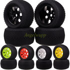 SET RC 1:8 Off Road Monster Truck 17mm Hub Wheel Rim & 140mm Tires,Tyre 89105
