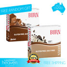 Maxines Burn Bars 24 x 40g Low Carb Bar Choc Womens Protein Thermogenic Maxine
