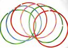 """4-12 Quality Adults Kids Stripy Multicolor Small Large Hula Hoops DIA:55cm (22"""")"""