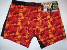 Mens New  Underwear Equipo   Boxer Brief  2 Pack Multi Color and Black