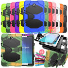 For Samsung Galaxy Tablet Hard Heavy Duty Case Rubber PC Stand Shockproof Cover
