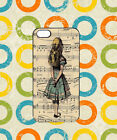 Disney Alice in Wonderland Music Case For iPhone iPad Samsung Galaxy Cover 377
