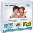 Mattress Encasement Bed Bug Water Proof Protector Deep Pocket Polyester Cover