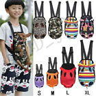 Pet Dog Backpack Carrier Puppy Pouch Cat Front Bag or Back Pack With Legs Out US