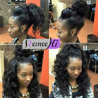 """New Fashion Body Wave 100% Real India Remy Human Hair Lace Front Wigs 12""""-24"""""""