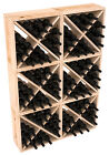 24-144 Bottle Wine Rack Cubes in Rustic Pine. Handmade in the USA. Free Ship!