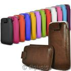PROTECTIVE COLOUR PHONE COVER CASE POUCH WITH PULL TAB FOR NOKIA 215 MOBILES