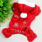 Pet Dog Warm Clothes Puppy Cat Shirt Winter Sweater Costume Jacket Coat Apparel