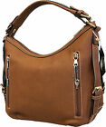 Concealed Carry Purse Gun Concealement Purse Vegan Leather CCW Locking Zipper