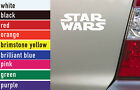 Star Wars TV Movies Vinyl Sticker Decal Car-Truck Laptop-Netbook 0252
