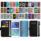 For Samsung Galaxy J5 J500 Magnetic Flip Wallet POUCH Case Phone Cover + Pen